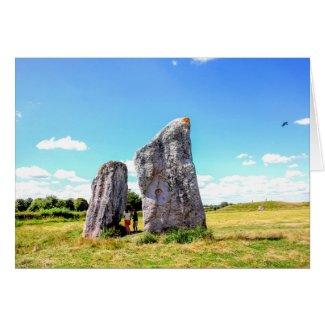 Avebury Stone Circle Card