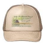 Avec/with logo Salon Du Moment Présent Hats
