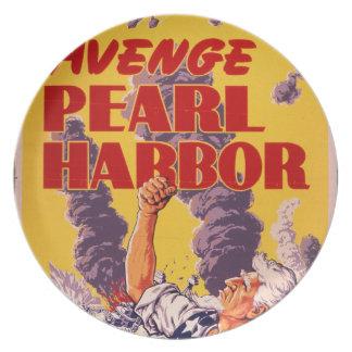 Avenge Pearl Harbor Plate
