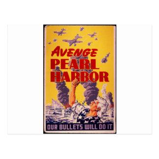 Avenge Pearl Harbor Postcard