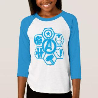 Avengers Assemble Icon Badge T-Shirt