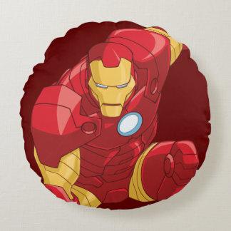 Avengers Assemble Iron Man Character Art Round Cushion