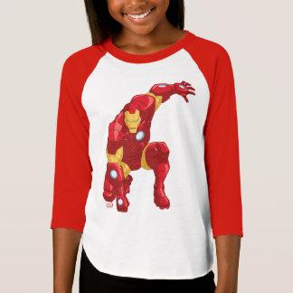 Avengers Assemble Iron Man Character Art T-Shirt