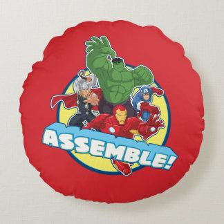 Avengers Assemble! Round Cushion