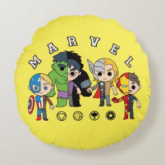 Avengers Classics   Dual Identity Round Cushion