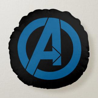 Avengers Logo Round Cushion
