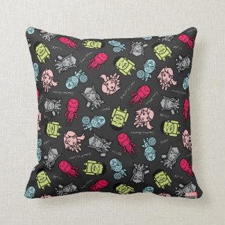 Avengers Simple Line Art Toss Pattern Cushion