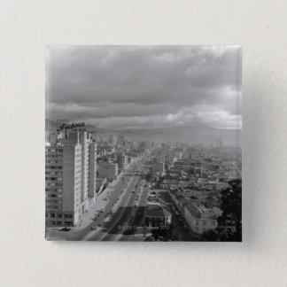 Avenida 10 15 cm square badge