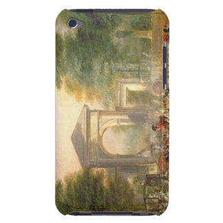 Avenue before the Botanical Gardens in Madrid, 178 Barely There iPod Covers