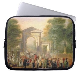 Avenue before the Botanical Gardens in Madrid, 178 Laptop Sleeve