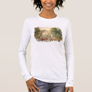 Avenue before the Botanical Gardens in Madrid, 178 Long Sleeve T-Shirt