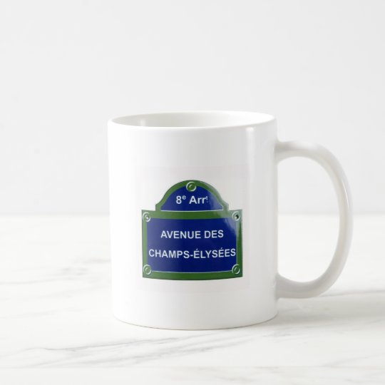 avenue-champs-elysees, avenue-champs-elysees coffee mug
