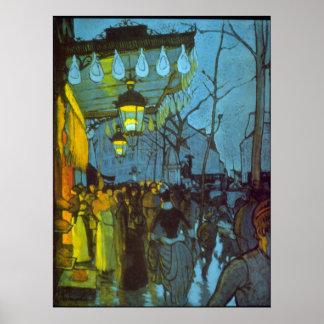Avenue De Clichy by Louis Anquetin Poster
