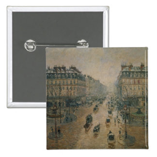 Avenue de L'Opera, Paris, 1898 15 Cm Square Badge