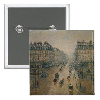 Avenue de L'Opera, Paris, 1898 15 Cm Square Badge