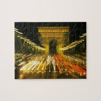Avenue des Champs-Elysees, Arch of Triumph, Jigsaw Puzzle