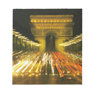 Avenue des Champs-Elysees, Arch of Triumph, Notepad