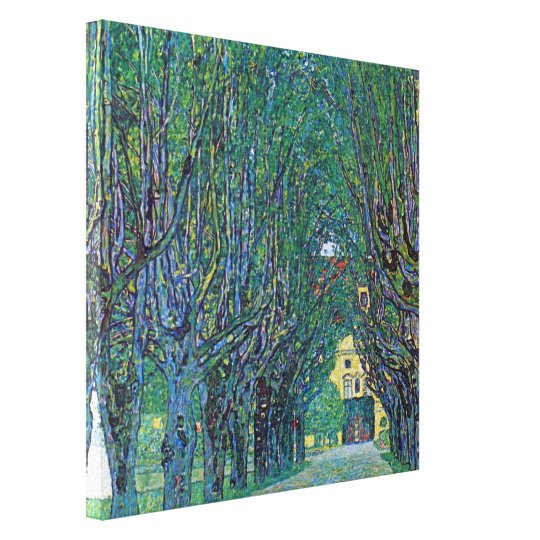 Avenue In Schloss Kammer Park by Gustav Klimt