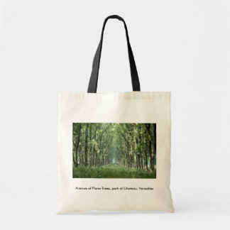 Avenue of Plane Trees, park of Chateau, Versailles Tote Bag
