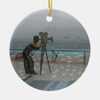 Avenue of Stars, Kowloon, Hong Kong Christmas Ornament