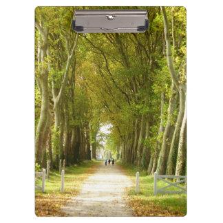 Avenue of Trees Clipboard