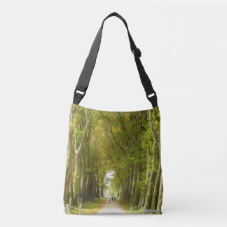 Avenue of Trees Cross Body Bag