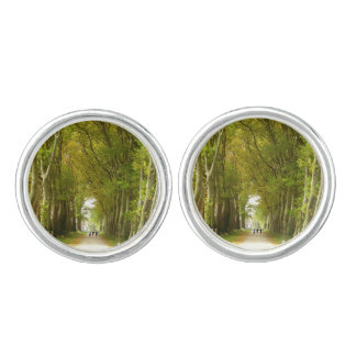 Avenue of Trees Cufflinks