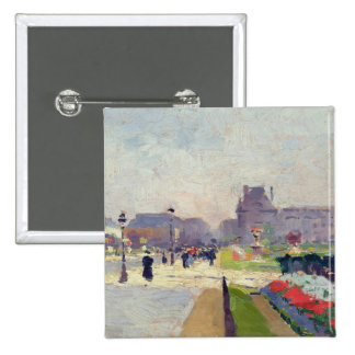 Avenue Paul Deroulede, Tuileries, Paris 15 Cm Square Badge
