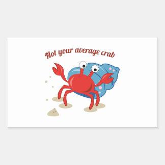 Average Crab Sticker