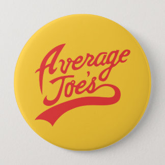 Average Joe's 10 Cm Round Badge