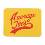 Average Joe's Rectangle Magnet