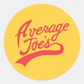 Average Joe's Round Sticker