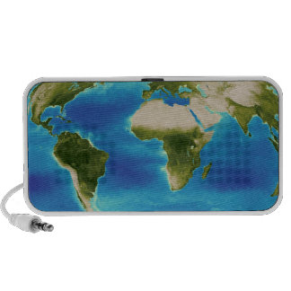 Average plant growth of the Earth iPhone Speakers