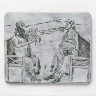 Averroes  in Conversation with Porphyry Mouse Pad