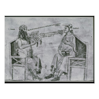 Averroes  in Conversation with Porphyry Poster