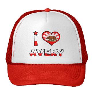 Avery, CA Trucker Hat