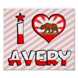 Avery CA Print