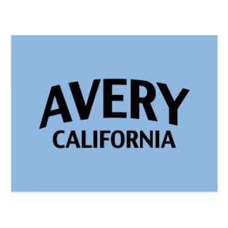Avery California Post Card