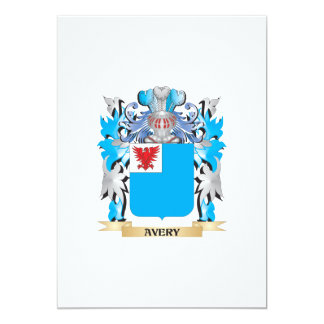 Avery Coat Of Arms Personalized Invite