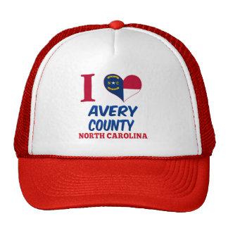 Avery County, North Carolina Hats