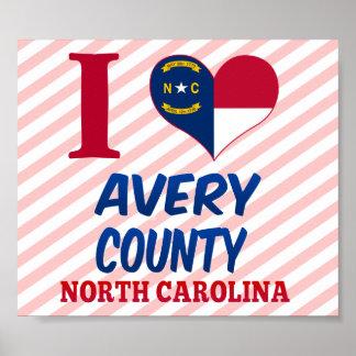 Avery County, North Carolina Poster