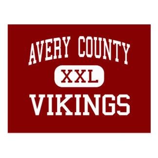 Avery County - Vikings - High - Newland Postcard