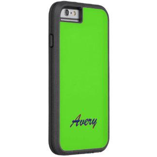 Avery Emerald Green Tough Xtreme iPhone 6 case