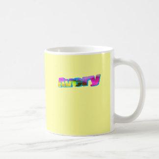 Avery Classic White Coffee Mug