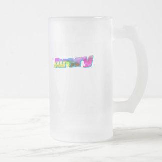 Avery Frosted Glass Mug