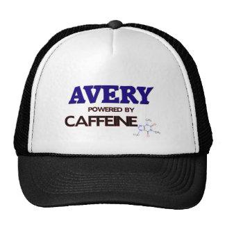 Avery powered by caffeine hats