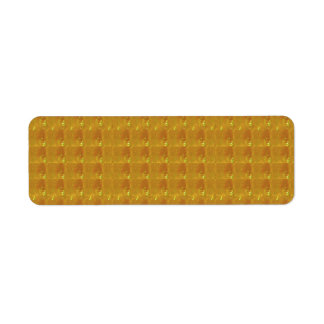 Avery Return Address Labels CRYSTAL GOLD BISCUITS