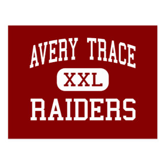 Avery Trace - Raiders - Middle - Cookeville Postcard