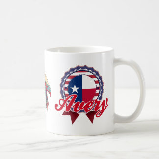 Avery, TX Coffee Mug