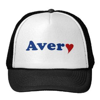 Avery with Heart Trucker Hats